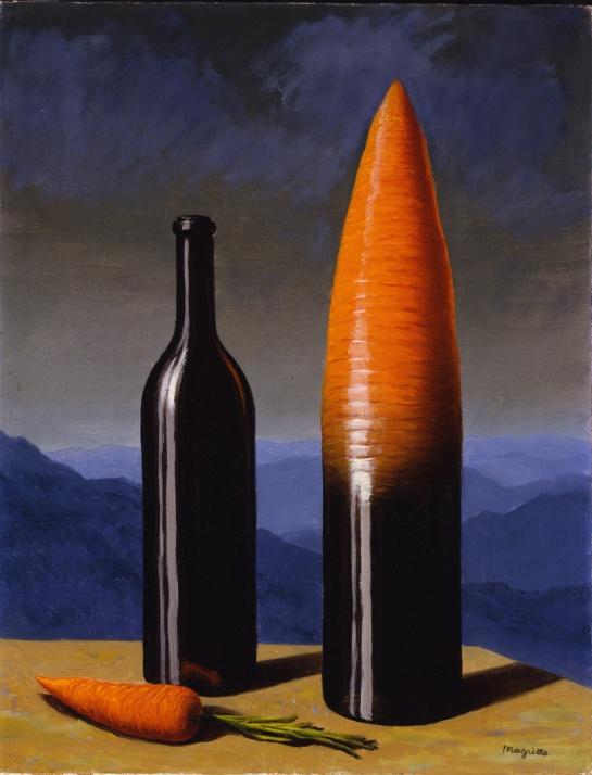 L'explication (1952) par René Magritte