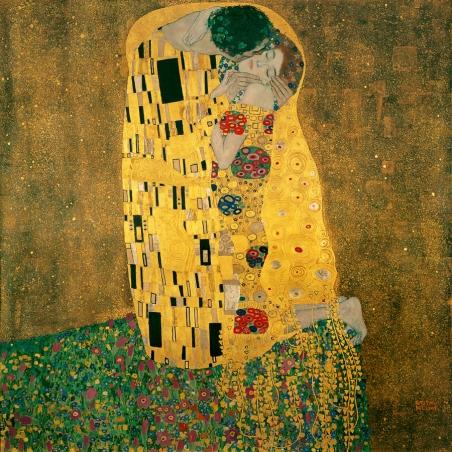 Le Baiser par Gustav Klimt, 1908, Autriche