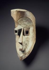 Masque Mahongwe, Artiste inconnu, XIXe siècle, République du Congo