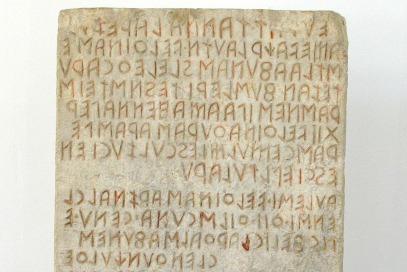 Dalle Etrusque, Pérouse (Italie) – IIIe-IIe siècle av. J.C. – © Giovanni Dall'Orto