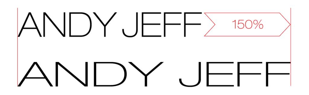 Déformation Helvetica