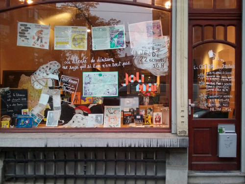 Librairie Joli Mai – rue de Roumanie 28 à Saint-Gilles